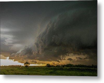 Eastern Nebraska Moderate Risk Chase Day Part 2 004 Metal Print