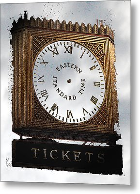Metal Print featuring the photograph Eastern Standard Time by Christopher Woods