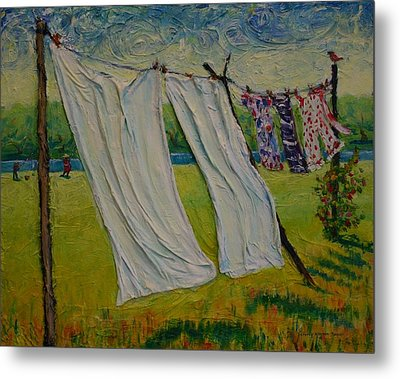 Easy Breezy Metal Print by Dorothy Allston Rogers