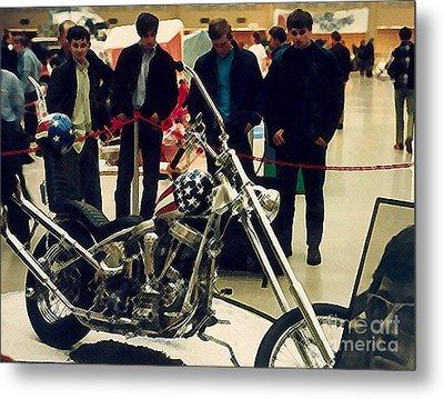 Easy Rider Bike Metal Print by Brent Easley
