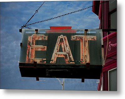 Eat Metal Print by Jame Hayes