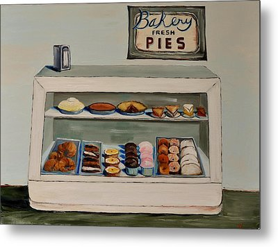 Eat More Pie Metal Print