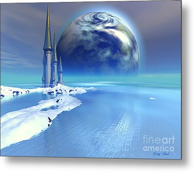 Ebb And Flow Metal Print by Corey Ford