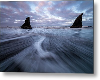 Metal Print featuring the photograph Ebb And Flow by Mike Lang