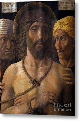 Ecce Homo, By Andrea Mantegna, 1493, Musee Jacquemart-andre, Par Metal Print by Peter Barritt