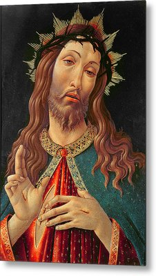 Ecce Homo Or The Redeemer Metal Print