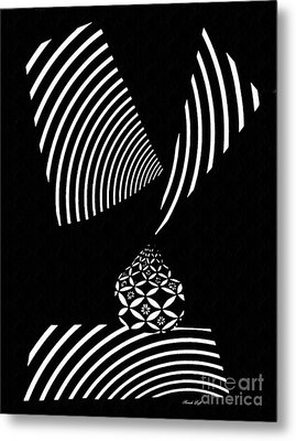 Echo In Time Metal Print by Sarah Loft