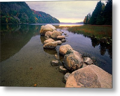 Echo Lake Sunset Metal Print by George Oze