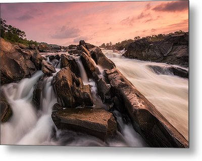 Metal Print featuring the photograph Echoes At Daybreak by Bernard Chen