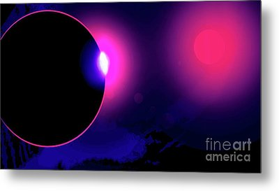Eclipse Of 2017 Metal Print