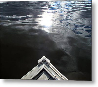 Edge Of The Dock 2 Metal Print