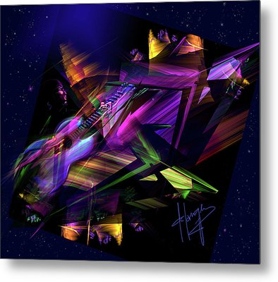 Edge Of The Universe Metal Print by DC Langer
