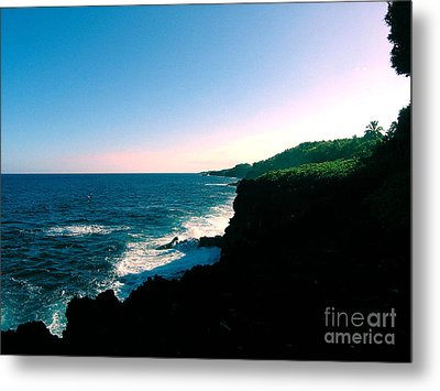 Edge Of The World Metal Print by Silvie Kendall
