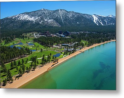 Metal Print featuring the photograph Edgewood By Air by Brad Scott