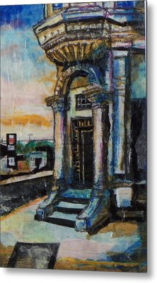 Edina Bank Metal Print by Laurie Tietjen