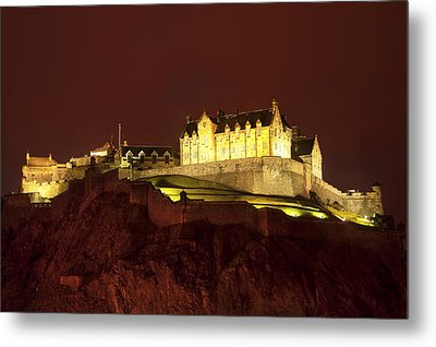 Edinburgh Castle Metal Print by Svetlana Sewell