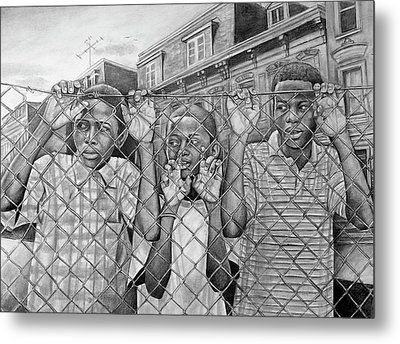 Education Is The Way Out Metal Print by Curtis James