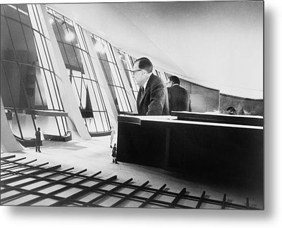 Eero Saarinen 1910-1961, Finish Metal Print by Everett