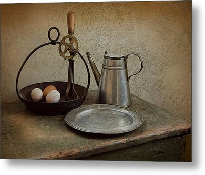 Egg Beaters Metal Print by Robin-Lee Vieira