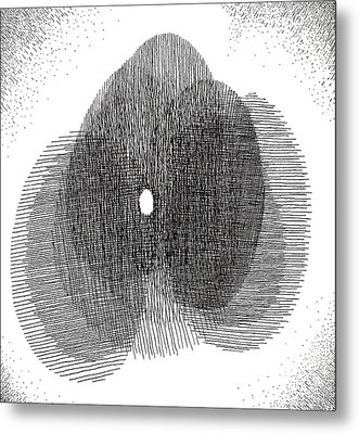 Egg Drawing 119717 Metal Print