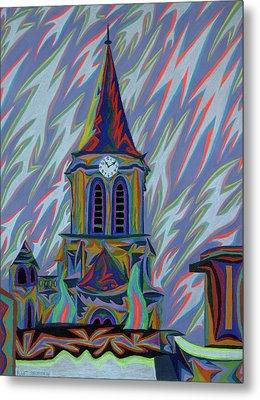 Eglise Onze - Onze Metal Print