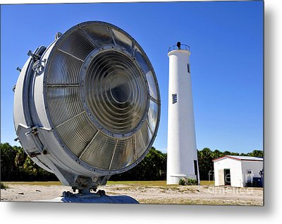 Egmont Key Lighthouse 1858 Metal Print by David Lee Thompson