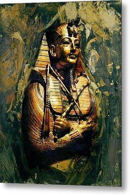 Egyptian Culture 3b Metal Print by Maryam Mughal