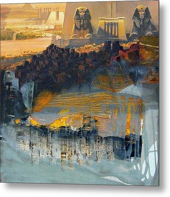Egyptian Culture 46d Metal Print