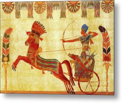 Egyptian Majesty Metal Print by Sarah Kirk
