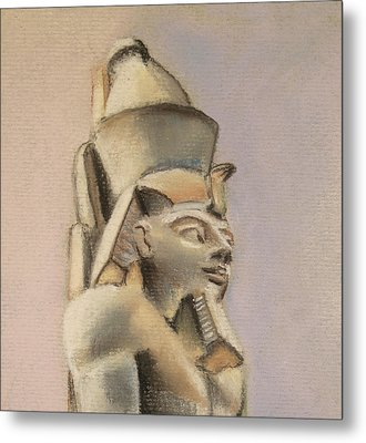 Egyptian Study Metal Print