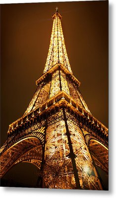 Eiffel Metal Print by Skip Hunt