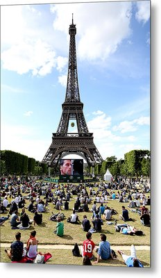 Eiffel Tower 14 Metal Print by Andrew Fare