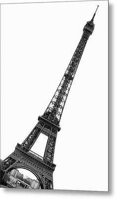 Eiffel Tower Metal Print by Marion McCristall