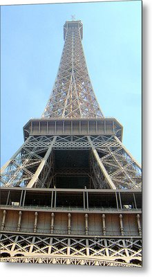 Eiffil Tower Paris France  Metal Print by Linda Shackelford