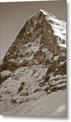 Eiger North Face Metal Print