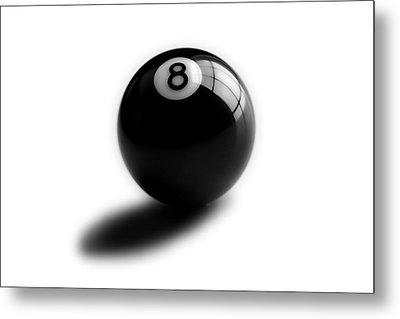 Eight Ball Metal Print by Mark Wagoner