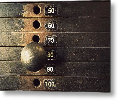 Eighty Metal Print