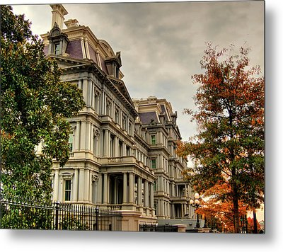 Eisenhower Building Metal Print by Kevin Hill