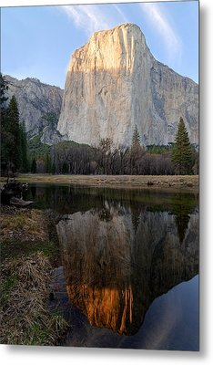 Metal Print featuring the photograph Yosemite - El Capitan by Francesco Emanuele Carucci