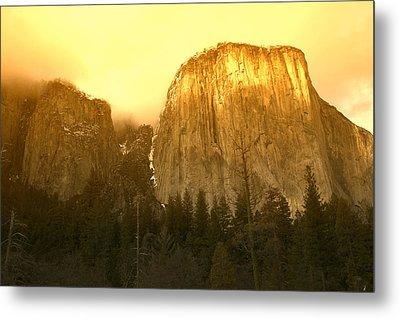 El Capitan Yosemite Valley Metal Print