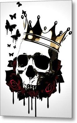 El Rey De La Muerte Metal Print