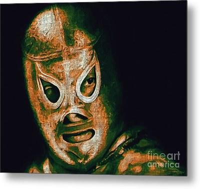 El Santo The Masked Wrestler 20130218 Metal Print