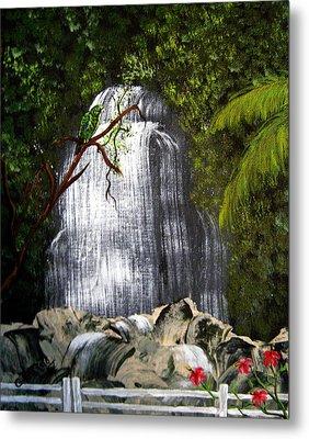 El Yunque  Metal Print by Gloria E Barreto-Rodriguez