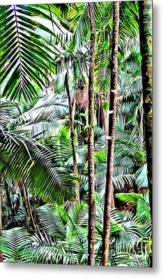 El Yunque Rainforest 3 Metal Print by Carey Chen