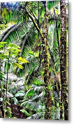 El Yunque Rainforest 7  Metal Print by Carey Chen