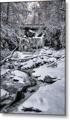 Elakala Falls Metal Print
