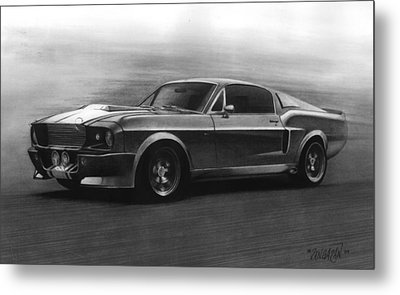 Eleanor  Gt 500 Metal Print by Tim Dangaran