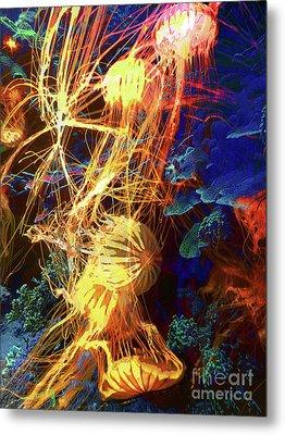 Electric Jellies Metal Print by Robert Ball