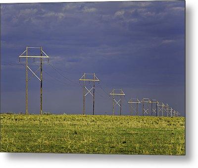 Electric Pasture Metal Print
