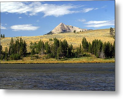 Electric Peak 1 Metal Print by Marty Koch